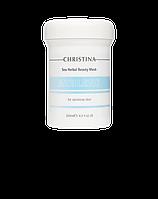 "Маска красоты ""Азулен"" на основе трав для чувствительной кожи, 250 мл/Sea Herbal Beauty Mask Azulene"
