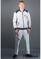 Мужской спортивный костюм Митчел серый