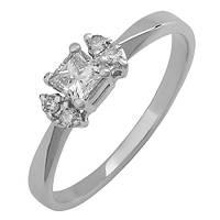Золотое кольцо с бриллиантами Авалайн 000036137 16 размера