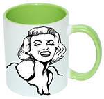 Чашка с Вашим дизайном MUG2T-I, цветная внутри и ручка, фото 8