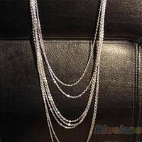 Мульти цепи винтаж  - серебро 925 пр