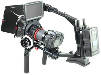 Комплект рига FILMCITY Shoulder Rig - 3 (FC-SR3) + компендиум + фоллоу фокус (C-PLT-KIT) плечевой риг