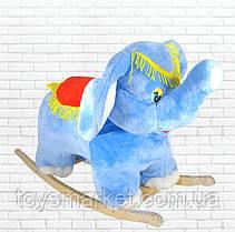 Детская качалка,слон