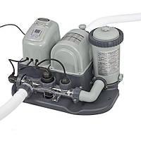 Intex Фильтр-насос 28674 с системой соленой воды 220V 4542 л/ч (насос) 3974 л/ч (фильтр)