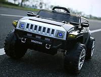 Детский электромобиль Hummer черный