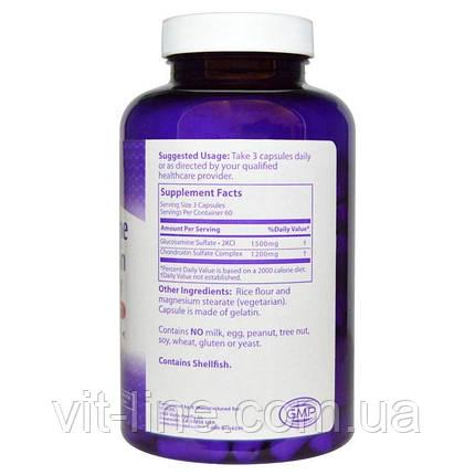 MRM, Хондроитин глюкозамина, 1500 мг/1200 мг, 180 капсул, фото 2