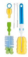 Набор ершиков для мытья бутылок и сосок Canpol babies 7/403