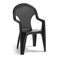 Стул Allibert Santana Chair темно-серый
