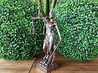 "Подарочная статуэтка Veronese ""Фемида"" (32 см) 71832A4. Подарок юристу"