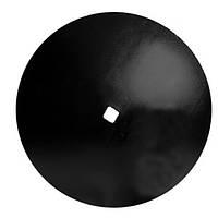 Диск бороны (сфера) John Deere (Днар=610 мм,Двнут квадрат =34/31мм) (Борированный) (Велес-Агро)