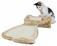 Когтеточка Trixie Scratching Board with Sisal Roll для кошек, с вращающимся роликом, 34х67х11 см