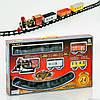 Железная дорога 3016 (24) свет, звук, на батарейке, в коробке