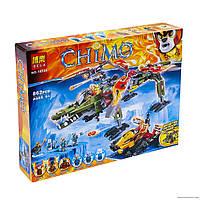 "Конструктор ""CHM"" 10358 (18) ""Спасение короля Кроминуса"", 869 деталей, в коробке"
