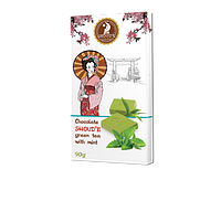 "Шоколад ""Зеленый чай с мятой"""