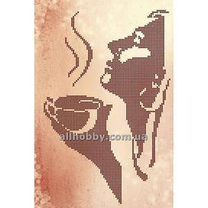 Схема для вышивания бисером Аромат кофе БИС4-7 (А4)