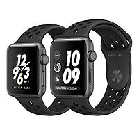 Apple Watch Nike+ 38mm Space Gray Aluminum Case with Anthracite/Black Nike Sport Band MQ162 [38mm|Black/Anthracite/Black Nike Sport Band]