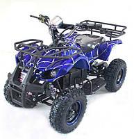 Квадроцикл бензиновый HL-E421F 49CC, синий
