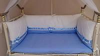 Детский комплект постельного белья с бортиками в Херсоне на заказ