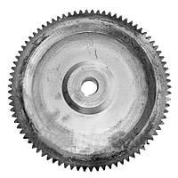 Шестерня цилиндрическая редуктора самохода вала среднего(z=82 под шпонку) ОВС-25
