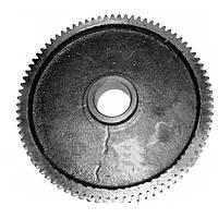 Шестерня цилиндрическая редуктора самохода вала среднего(z=82 под втулку) ЗМ-60А