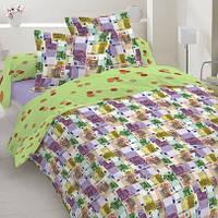 Комплект постельного белья, евро, сатин, 100 % хлопок.
