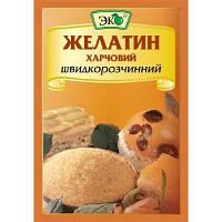 Желатин пищевой быстрорастворимый Эко, 15 грамм
