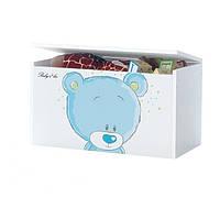 Ящик для игрушек Голубой Мишка Baby Boo 100062