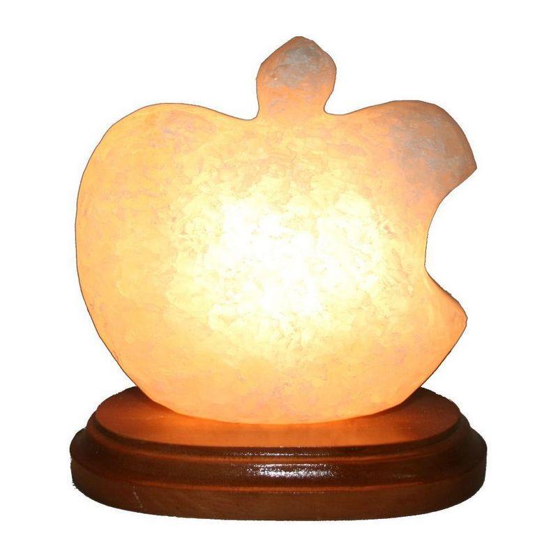 """Соляной светильник """"Яблоко Apple"""" (1 кг) """""""