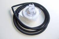 Тонкий кабель для теплого пола под плитку | Woks-10 1250 Вт (7,5…10,0 кв.м)