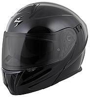 Шлем модуляр Scorpion EXO-920 AIR черный глянец, M