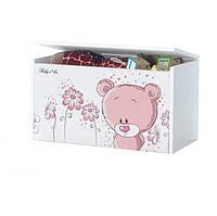 Ящик для игрушек Розовый Мишка Baby Boo 100063