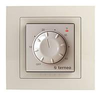 Механический терморегулятор для теплого пола Terneo rtp unic (слоновая кость)