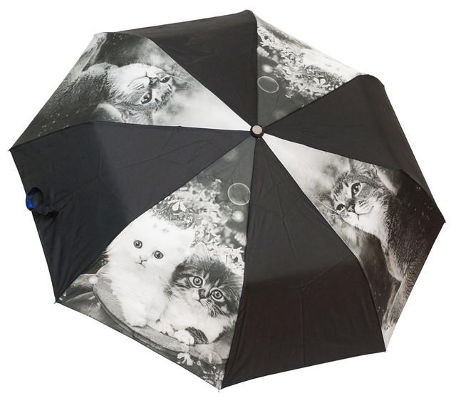 Красивый женский зонт полуавтомат