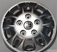 Колпаки на колеса диски для дисков R 12 серые колпак K0004