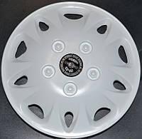 Колпаки на колеса диски для дисков R 12 белые колпак K0002