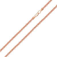 Золотая цепочка Альванда в красном цвете 000051552, 50 размера