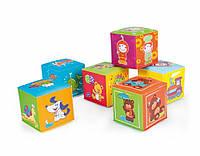 Игрушка-кубик мягкая 6 шт. Canpol babies 2/817