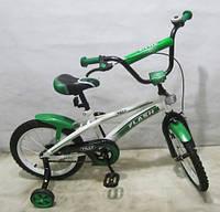 Детский Велосипед TILLY FLASH 16 д. T-21641 green