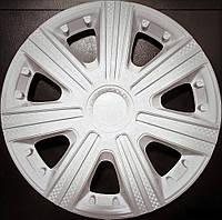 Колпаки на колеса диски для дисков R13 белые Дтм колпак