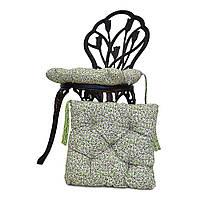 Подушка на стул Олива цветы