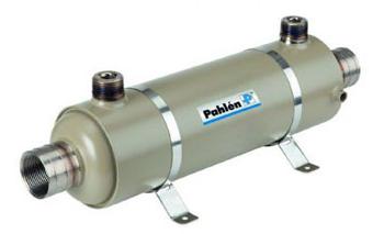 Теплообменник для бассейна Pahlen Hi–Flow HFT 40 кВт титановый
