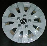 Колпаки на колеса R13 белые колпак K0014
