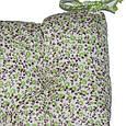 Подушка на стул Олива цветы, фото 3