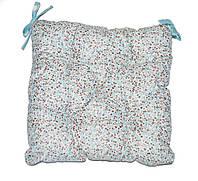 Подушка на стул Тиффани цветы