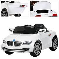 Детский электромобиль BMW M 3152 EBR-1 белый, мягкие колеса
