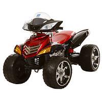 Детский электрический квадроцикл с пультом M 3101 EBLRS-2 красный,мягкие колеса,сиденье/АВТОПОКРАСКА