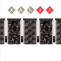 Алюмінієва брудозахисна решітка - наповнювач Щетка + Текстиль