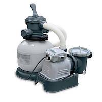 Intex Фильтр-насос 28652 грубой очистки с системой соленой воды 220V 12000 л/ч (насос) 9200 л/ч (фильтр)