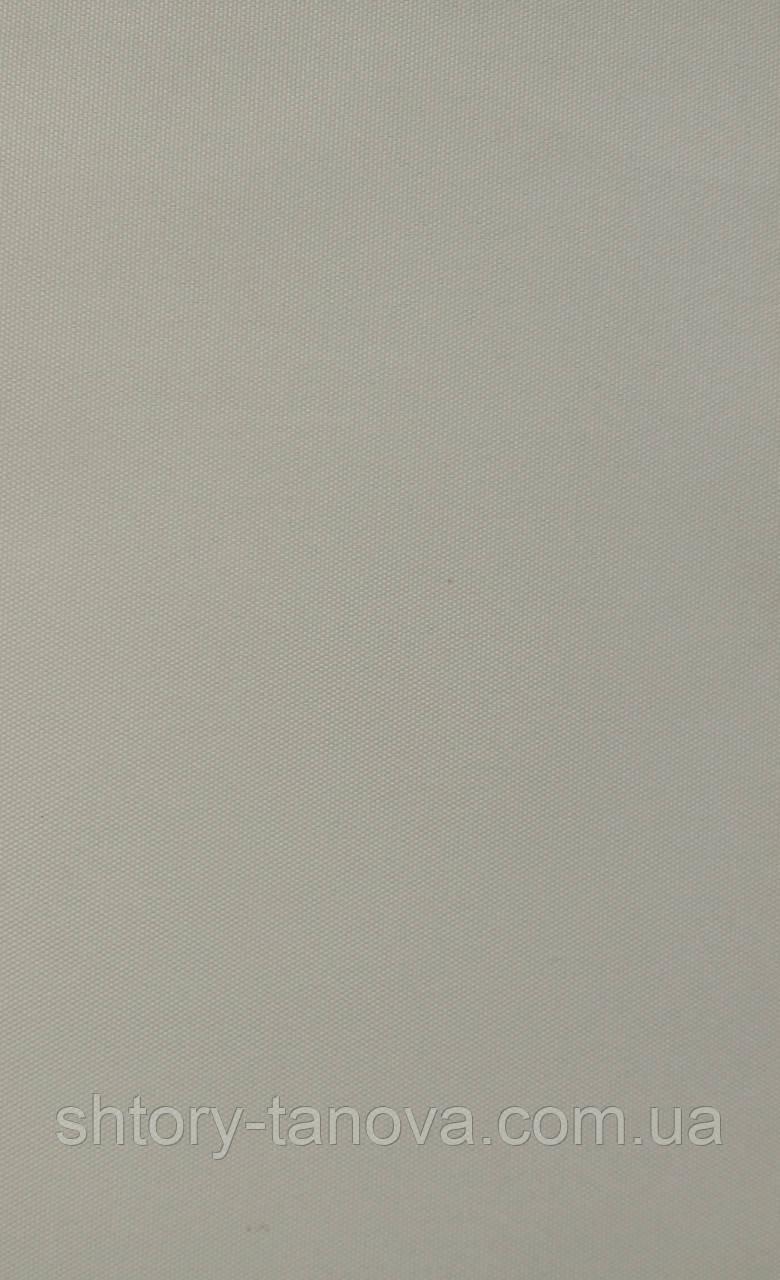 Рулонные шторы рубин блэк-аут (блекаут) кремовый