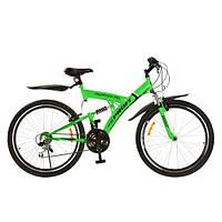 Cпортивный велосипед 26д PROFI M2615D салатовый